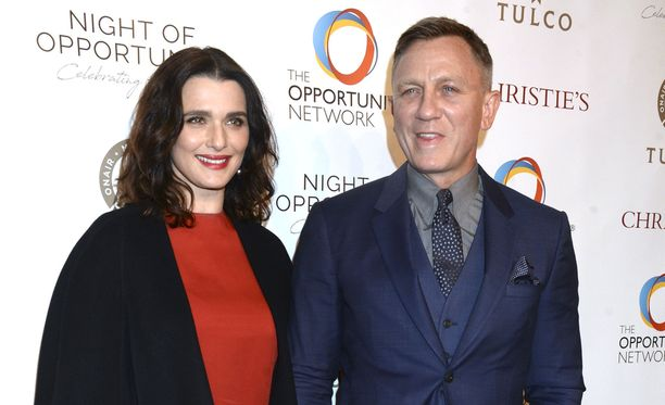 Rachel Weisz ja Daniel Craig saivat ensimmäisen yhteisen lapsensa.
