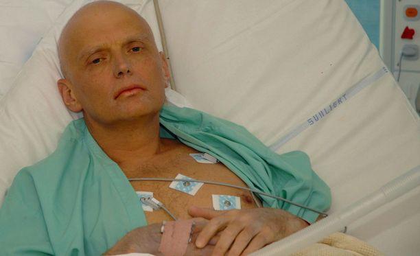 Venäläinen ex-vakooja Aleksander Litvinenko myrkytettiin poloniumilla. Litvinenko kuoli vuonna 2006 Lontoossa.