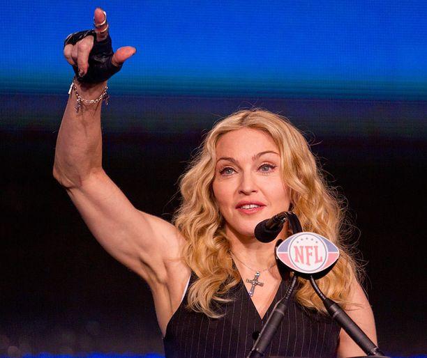 Madonna on kertonut vähentäneensä treenausta.