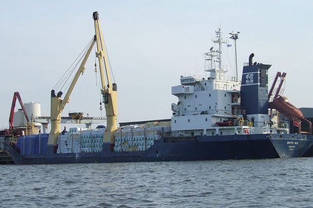 Arctic Sea kaapattiin kesällä 2009 Itämerellä.
