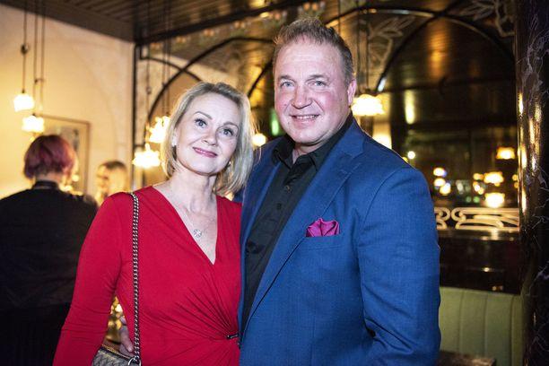 Sarianne Reinikkala ja Tony Montana ovat hakeneet avioeroa kolmen vuoden liiton jälkeen.