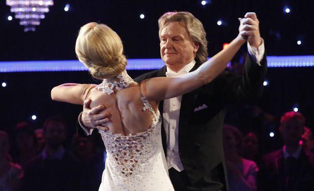 Pepe Willbergin ja Jutta Heleniuksen esitys teki suuren vaikutuksen.