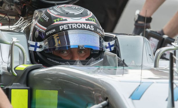 Valtteri Bottas on löytänyt hyvät asetukset Meksikon GP-ajalle.