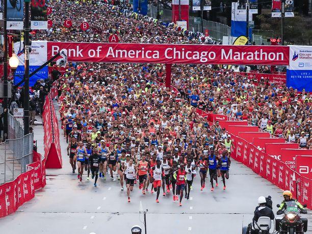 Maailman suurimpiin maratontapahtumiin lukeutuva Chicagon maraton juostiin puolitoista viikkoa sitten jo 41. kerran.