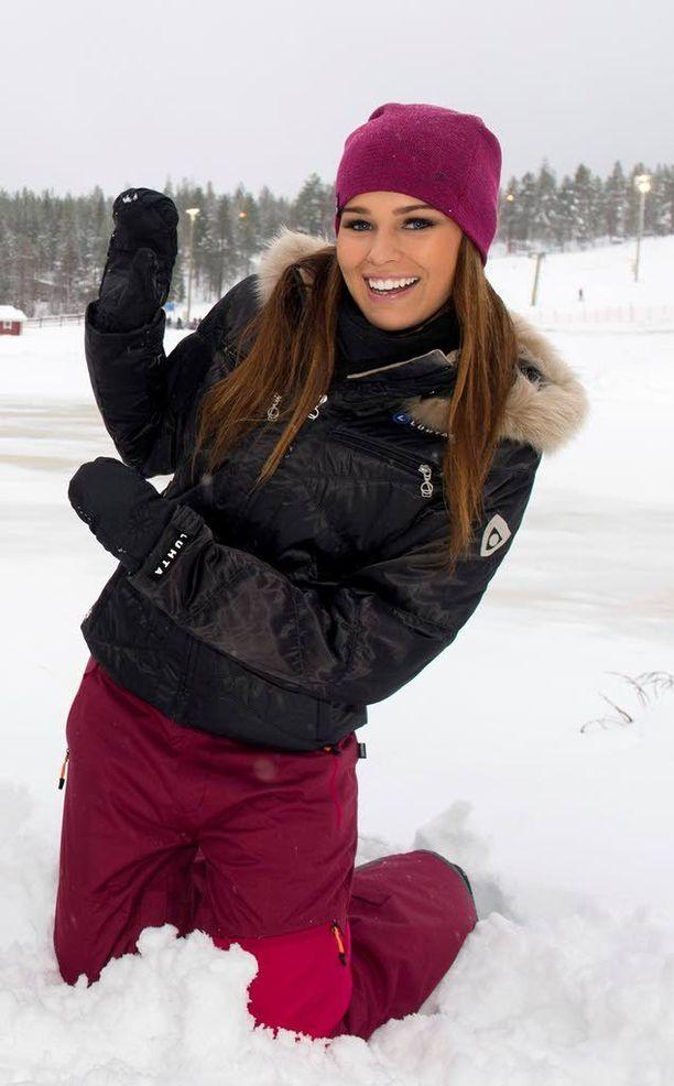 Sara Sieppi viettää joulun aina perheensä kanssa kotonaan Pohjois-Suomessa.