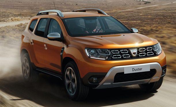 Uusi Dacia Duster on saanut ylvään ilmeen.