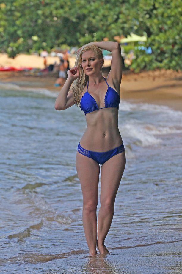Heidin upea bikinivartalo on käynyt läpi kovan prosessin.