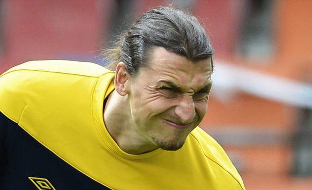 Zlatan Ibrahimovic ei vähästä hätkähdä.