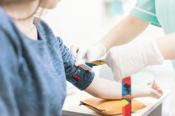 Suurin osa laboratoriokokeista tehdään verestä. Verikoe voi paljastaa vakavatkin taudit jo alkuvaiheessa.