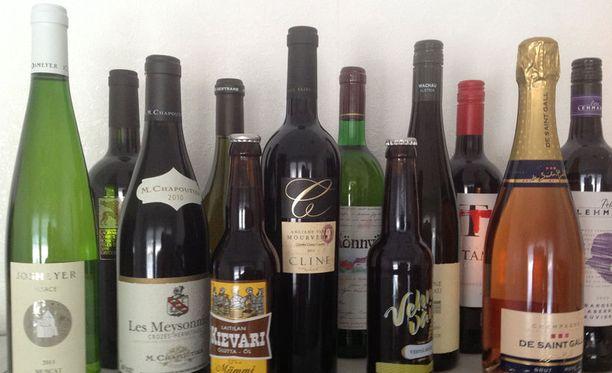 Alkon hallitusneuvoston jäsenille lähetetään ilmaista alkoholia. Nämä pullot olivat viimeisimmässä paketissa.