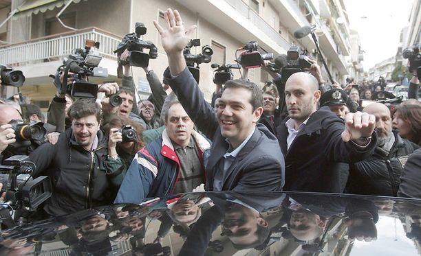 Alexis Tsipras oli 1990-luvun verisissä opiskelijamellakoissa elviskasvoinen kompromissien hakija.