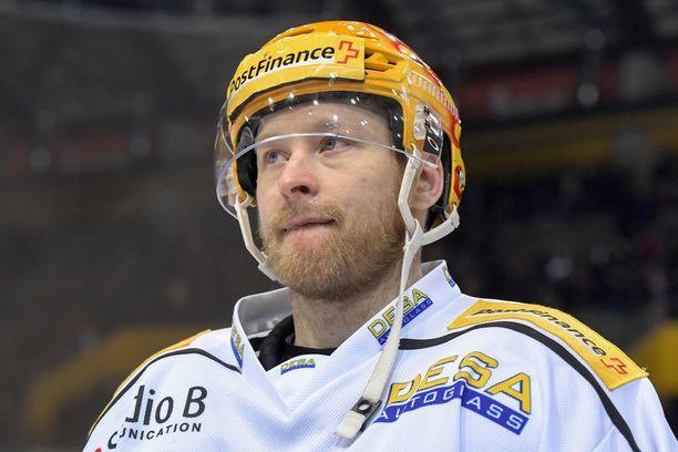 Linus Klasen pelasi kuusi edellistä kautta HC Luganossa.