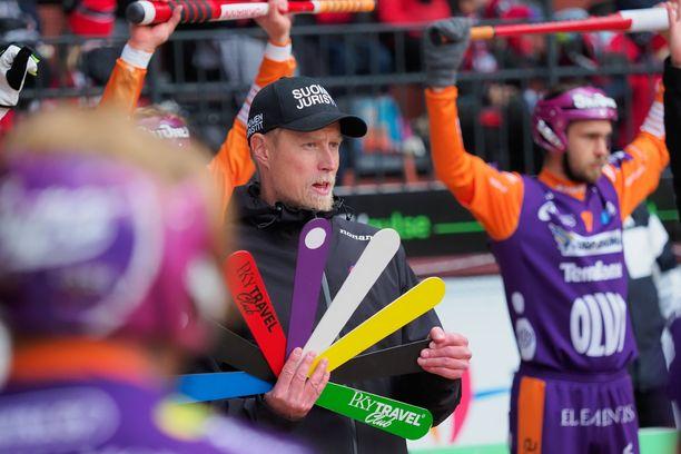 Jani Komulainen johdatti Jymyn finaaliin.