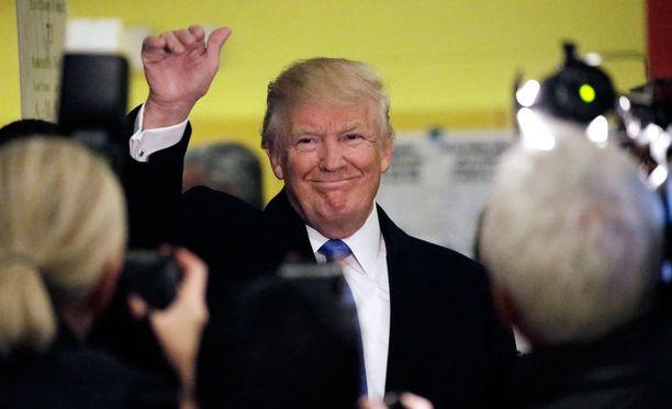 Republikaanien presidenttiehdokas Donald Trump on valittu Yhdysvaltain seuraavaksi presidentiksi.