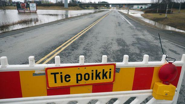 Pahin tulvahuippu Etelä-Pohjanmaalla on jo saavutettu. Muualla Pohjanmaalla huippu on vielä tulossa.