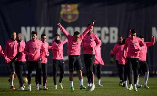 Barcelonan treeneissä eivät pallot pompsahtele minne sattuu.