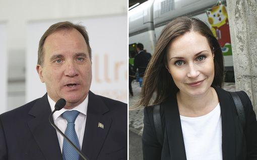 Näkökulma: Marin ja Löfven puhuvat keskenään englantia – Suomi ja Ruotsi tarvitsevat toisiaan nyt erityisesti