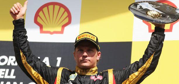 Kimi Räikköstä on nähty edellisissä kisoissa paljon palkintokorokkeella.