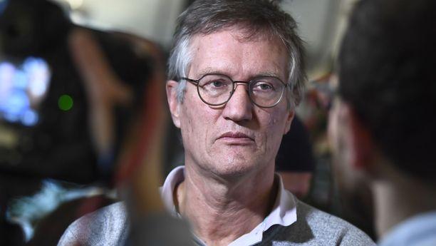 Valtionepidemiologi Anders Tegnell on Ruotsin koronalinjan arkkitehti.