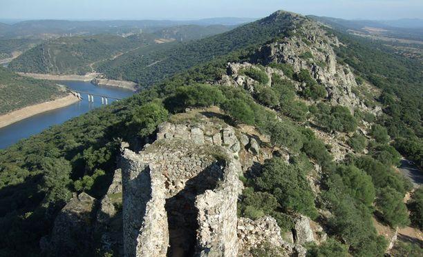 Monfragüen kansallispuisto sijaitsee länsi-Espanjassa.