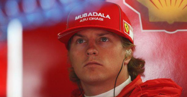Kimi Räikkönen kolaroi viime F1-kisassa Saksassa.