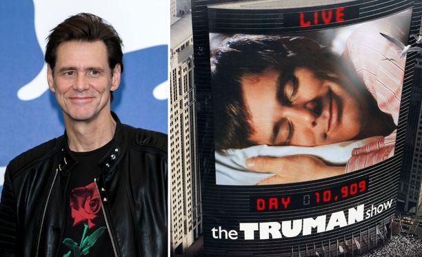 Jim Carrey on kommentoinut sitä, mitä mahtoi Truman Burbank ajatella elokuvan viimeisen kohtauksen jälkeen.