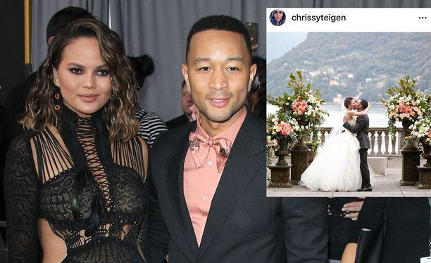 Chrissy Teigen ja John Legend ovat olleet naimisissa viisi vuotta.