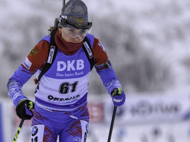 Margarita Vasilevaa ei nähdä ensi kaudella ampumahiihdon maailmancupissa kilpailukiellon vuoksi.