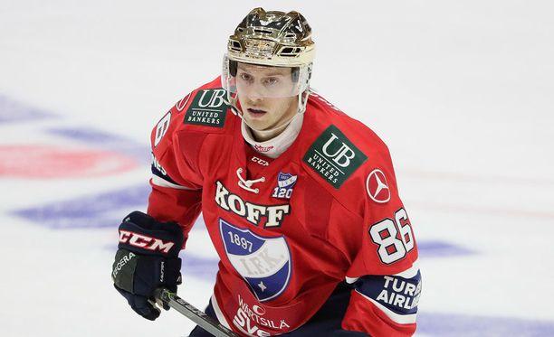 Erik Thorell on ollut tällä kaudella HIFK:n paras pistemies.