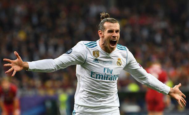 Gareth Bale teki Real Madridille kaksi maalia.