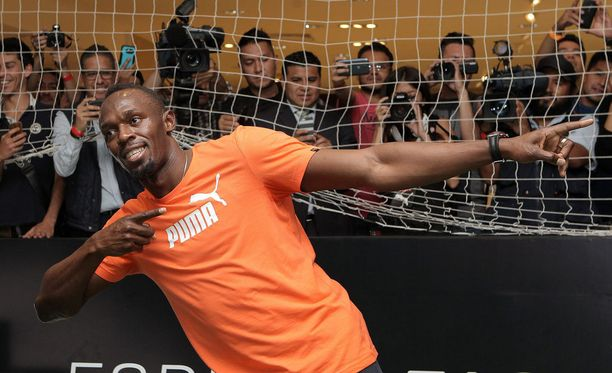 Usain Bolt on ainoa yleisurheilija, joka pääsee maailman parhaiten palkattujen urheilijoiden listalle.