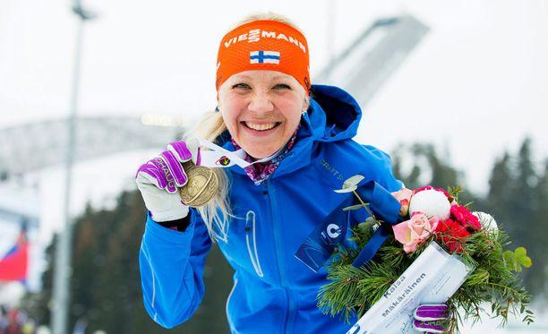 MM-pronssi Oslosta on Kaisa Mäkäräisen uran viides MM-mitali.