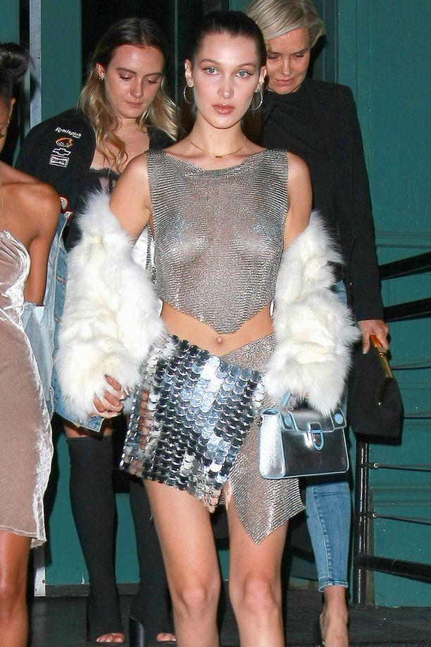 Bella Hadid on suosittu malli.