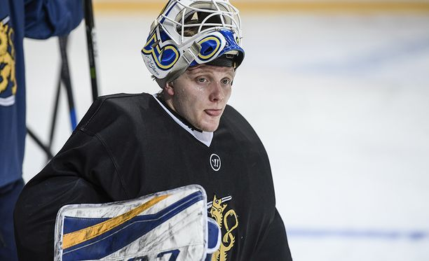 Leijonien maalilla Latviaa vastaan pelaava Ville Husso vietti kauden AHL:ssä, San Antonio Rampagen riveissä.