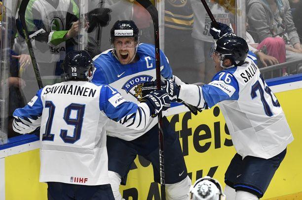 Marko Anttilan ja Leijonien sankaritekoja juhlittaneen useita päiviä.