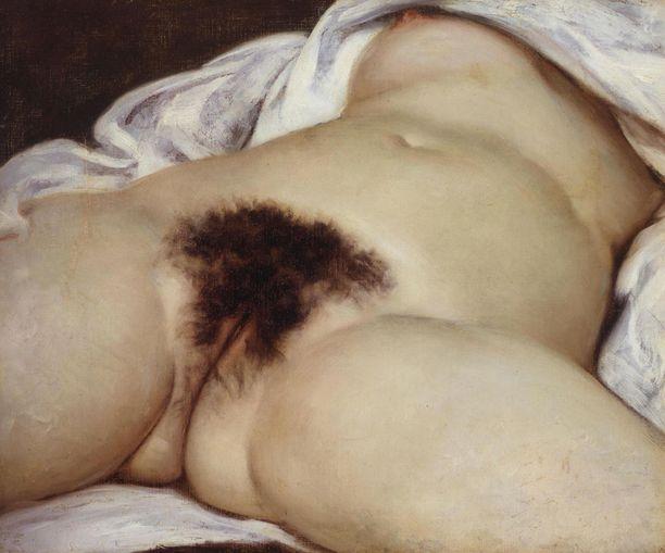 Ranskalaismiehen ja Facebookin kiistan syy johtuu Gustave Courbet'n vuonna 1866 valmistuneessa maalauksessa L'Origine de Monde kuvattavasta alastomuudesta.