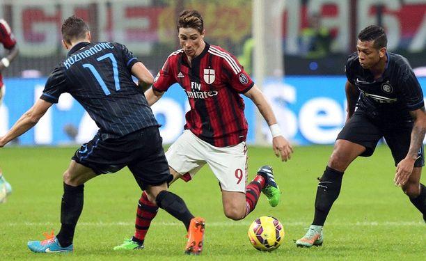 Fernando Torres on harhautellut menneen syksyn Milanin riveissä.