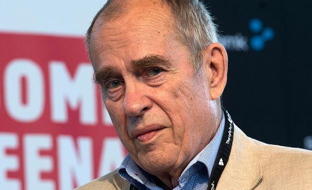 Jörn Donner (r).