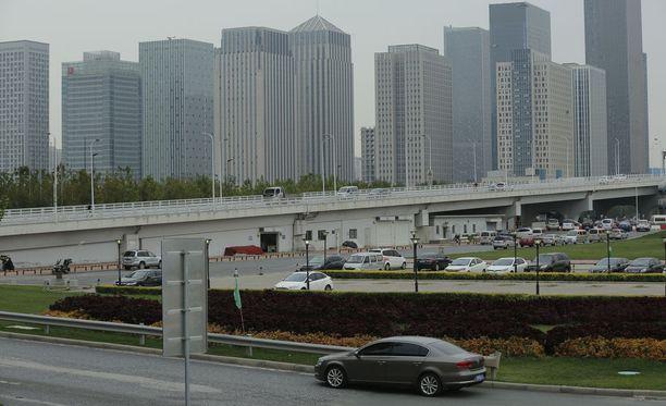Kiinan talous on kasvanut tammi-syyskuun aikana.