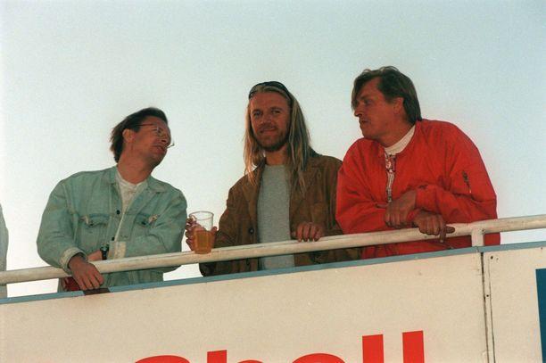 Harlinin Suomen-vierailut ovat olleet juhlien täyttämiä. Kuva Motoparkista juhannukselta 1997.