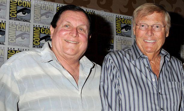 Burt Ward ja Adam West ovat osallistuneet kiitettävästi erilaisiin fanitapaamisiin. Tässä vuonna 2014.