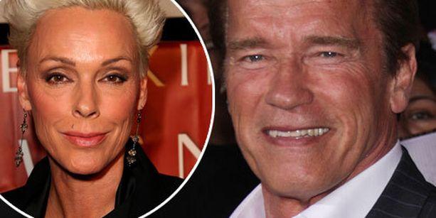 Brigitte Nielsen ja Arnold Schwarzenegger tapasivat yhteisen elokuvan kuvauksissa vuonna 1985.