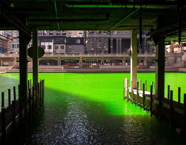 Chicagolaiset eivät uskoneet näkevänsä vihreää jokea tänä vuonna.