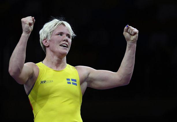 Jenny Fransson on olympiamitalisti.