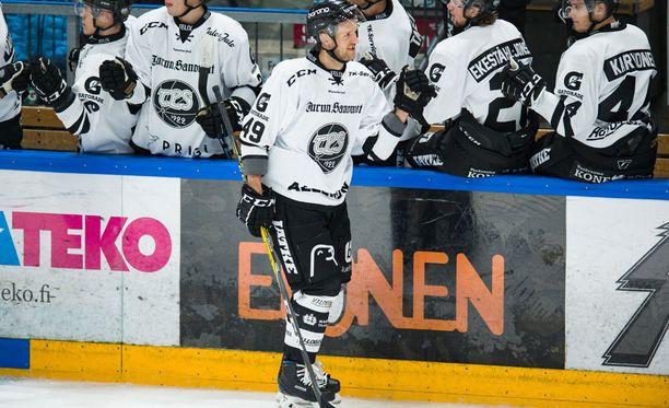 Ilkka Heikkinen on ollut tällä kaudella Liigan maaliahnein puolustaja.