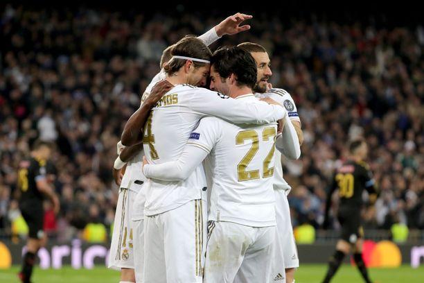 Real Madridin odotetaan juhlivan tänään.