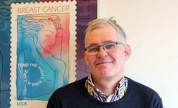 Professori Robert Winqvist työryhmineen sai Syöpäsäätiön Roosa nauha -rahaston suurapurahan.