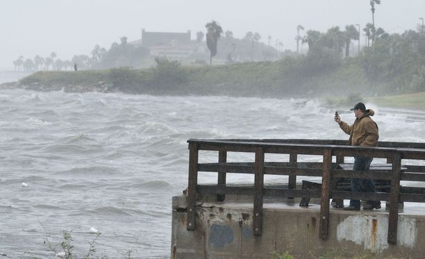 Harvey-hurrikaanin teho on meteorologien mukaan noussut.