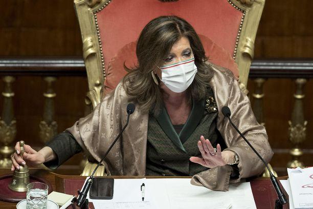 Maria Elisabetta Alberti Casellati on puolustanut Luglia.