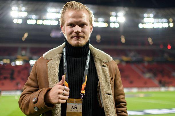 Joel Pohjanpalo seuraa tarkasti Leverkusenin otteluita.